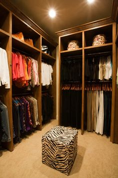 Traditional Master Closet By Kathleen Jacobson Of The Couture Closet, Dallas,  TX.