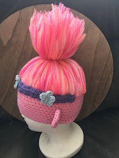 Ravelry: Troll Hat pattern by Nicki Mahon 4 Year Olds, Troll, Ravelry, Turban, Children, Crochet, Hats, Projects, Pattern