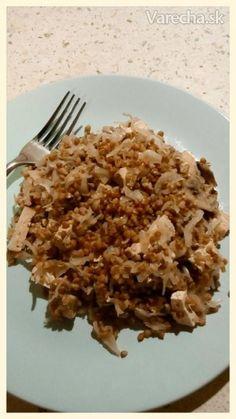 Pohánka s kyslou kapustou - vegan Polenta, Tofu, Quinoa, Grains, Rice, Vegan, Vegans, Seeds, Laughter