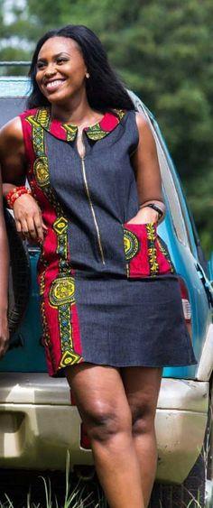 Latest Ankara Short Gown, Short Ankara Dresses, Ankara Gown Styles, African Tops For Women, African Dresses For Women, African Wear, African Fashion Skirts, African Clothes, African Print Fashion