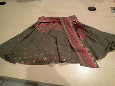 Falda de vuelo