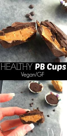 Healthy PB Cups