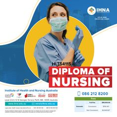 Take up this diploma and acquire the knowledge, skills and attributes required for practice as an Enrolled Nurse. With perfect balance of theory and practice, Diploma of nursing ensures you are trained in the real-world skills you need for success in your career as a nurse. For course details, Contact 0862128200. #IHNA #DiplomaofNursing #DiplomaCourse #AHPRA #australia Nursing Australia, English Language Test, Nursing Courses, Diploma Courses, Nursing Care, Education And Training, Ielts, Nursing Students, Learning Resources