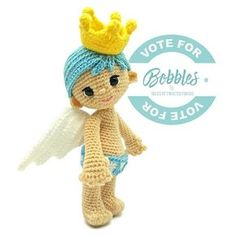 "Little Bobbles needs your help. He's my entry for ""Amigurumi Fantasy Creatures Design Contest"" organized by @amigurumipatterns. If you find Bobbles cute enough to be among the stars of this contest, could you please take a moment to vote for him at http://www.amigurumipatterns.net/designcontest/vote?id=2598 [the clickable link is in my bio]. Bobbles and I would appreciate it very much if you select him as one of your favorites. Thank you! ❤❤❤ This year, voters also stand to win some amazing…"