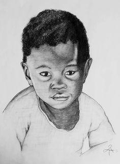 Little Boy Portrait Original Bleistiftzeichnung von leslieannthoms, €60.00
