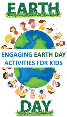 Engaging Earth Day Activities for Kids - Looking for fun and educational Earth Day activities for school or home? Try one (or more!) of these hands on learning activities on Earth Day or anytime this spring. Happy #teaching! #earthday #earthdayactivities #handsonlearning