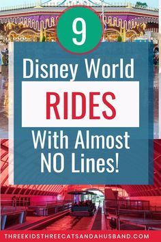 9 Underrated Disney World Rides (With the Shortest Lines!) 2020 9 Underrated Disney World Rides (With the Shortest Lines!) 2020 Walt Disney World planning vacati Disney World Secrets, Disney World Rides, Disney World Parks, Disney World Tips And Tricks, Disney Tips, Disney Worlds, Disney On A Budget, Disney World Vacation Planning, Orlando Vacation