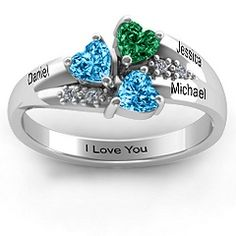<3 this one! I like having both our names and our ann date engraved on it...it'd be my birthstone, Michaels and the oct one