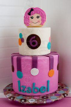Lalaloopsy Cake by sweethobby