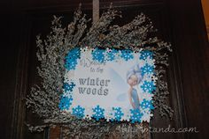 Secret of the Wings Tinkerbell Periwinkle Party 018 - great ideas