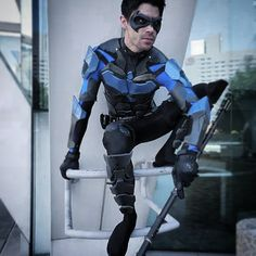 Nightwing cosplay @ Baltimore Comic-Con By: http://instagram.com/dynamitewebber