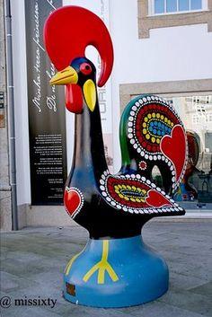 O Galo tradicional que serve de símbolo ao artesanato português. - symbol of Portuguese handicrafts