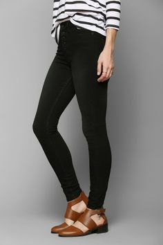 f62dc29077f BDG Twig High-Rise Button-Fly Jean - True Black