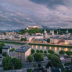 Salzburg owes much of its identity as a metropolis of music and the arts to a musical 'wunderkind' - do you know who we are talking about? Did You Know, Musicals, Tourism, Identity, Sunrise, Travel Photography, Castle, Europe, River