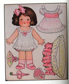 old Paper Dolls* 1500 free paper dolls for small Christmas gits and DIY for Pinterest pals The International Paper Doll Society Arielle Gabriel artist ArtrA Linked In QuanYin5 *