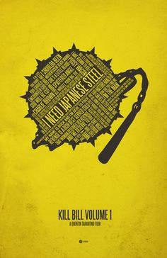 Kill Bill Quotes typography