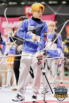 """[Picture] BTS at 2016 """"Idol Star Athletics Championships"""" Lunar New Year Special [160213]"""