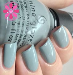 China Glaze The Giver Collection Intelligence, Integrity and Courage is a grey-blue creme