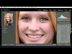 Lightroom tutorial: Reducing circles under eyes | lynda.com - YouTube