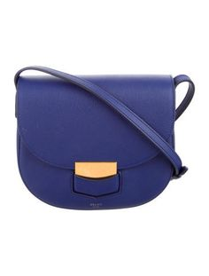 e31945f16652 The Bag List · From the Pre-Fall 2015 Collection by Phoebe Philo. Indigo grained  calfskin Céline Small
