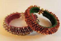 "Gekko beads bracelet tutorial ""Sfairat"" pdf pattern"