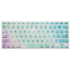 MOSISO Silicone Keyboard Cover Compatible with MacBook Pro Inch(with/Without Retina or Older Version), Older MacBook Air 13 Inch / Release Rainbow Mist Macbook Keyboard Stickers, Laptop Keyboard Covers, Macbook Pro Cover, Macbook Air 13 Inch, Macbook Case, Macbook Accessories, Computer Accessories, Cute Portable Charger, Best Macbook