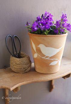 terrazza Vasi disegno : ... Vasi Di Terracotta, Lavoretti Con Vasi Di Terracotta e Vasi Di