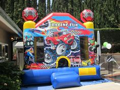 Monster Truck Graduation/End of School Party Ideas | Photo 4 of 24 | Catch My Party