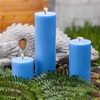 Light Blue Pillar candles provide a pop of color while providing hours of burn time! Clean burning, smooth, and consistent color throughout the candle! Blue Pillar Candles, Color Pop, Light Blue, Smooth, Cleaning, Colour Pop, Light Blue Color