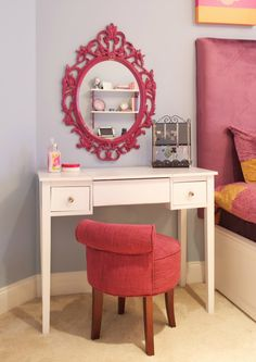 I have a similar frame in black, make a mirror to go with a vanity for Ayla's Room.