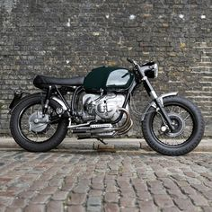 Um-3 Street BMW Custom Untitled Motorcycles are two guys and a girl making custom motorcycles out of a workshop in Camden, London. Untitled ...
