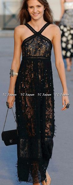 https://tc-jp.com/products/chanel-11c-leather-dress-new40 chanel black maxi dress leather