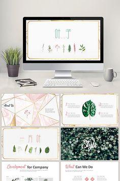 - đơn giản là mới mẻ PPT mẫu lá nhỏ#pikbest#powerpoint Powerpoint Design Templates, Ppt Template, Power Points, Branding, Powerpoint Word, Creative Artwork, At Home Workouts, Web Design, Instagram