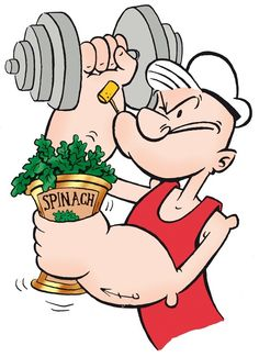 Image result for man eating and lifting weights cartoon