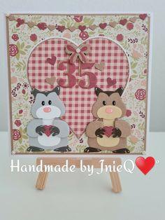 Marianne Design, Kittens, Kids Rugs, Hamsters, Pets, Cards, Handmade, Fox, Home Decor