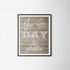 Quote Print Printable wall art decor poster. by printableartidea