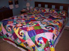 Nature's Jewels Quilt | Shades of Batik Pattern Cheri Good Quilt Designs : QuiltsInMontana