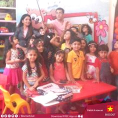 #SalmanKhan enjoys with kids! Checkout more pictures here : http://www.biscoot.com/photo-stories