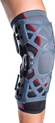 e2c1b52add DonJoy OA (Osteoarthritis) Reaction WEB Knee Support Brace: Medial  Left/Lateral Right, Large
