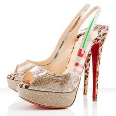 Christian Louboutin Shoes and Christian Louboutin Wedding Shoes, Christian Louboutin Ecotrash Slingbacks, Stilettos, Red Heels, High Heels, Cheap Christian Louboutin, Fashion Heels, Runway Fashion, Latex Fashion, London Fashion, Teen Fashion