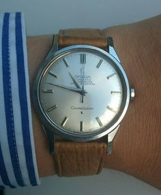 Superb Vintage OMEGA Constellation Chronometer In Stainless Steel Circa 1960s