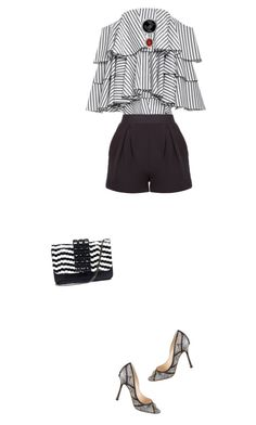 """Today, everything will be ok!"" by rasaj ❤ liked on Polyvore featuring Caroline Constas, Jimmy Choo and Emanuela Caruso"