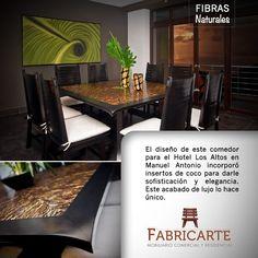 Campaña fibras naturales. #artemadera #fabricarte