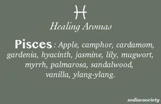 Zodiac Society - Healing Aromas for Pisces