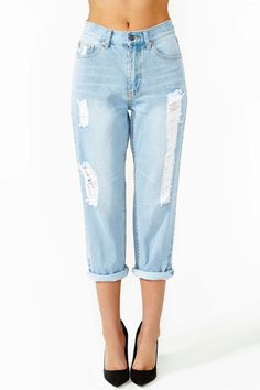 Lady Teddy Jeans by cheap monday- the crop would mean they fit me like normal jeans! No taking up necessary!
