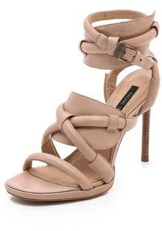 Rachel Zoe Monica Ankle Strap Sandals on shopstyle.com