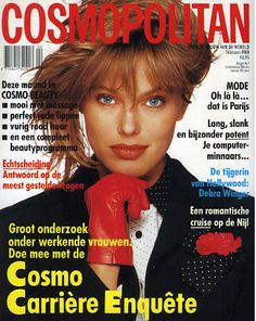 Renee Simonsen - Cosmopolitan Denmark Feb 1988
