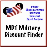 "New - Military Disney Tips Discount Finder released!  ""Just find your status ... and follow the link"" to take you to a page filled with discounts tailored just for you!"