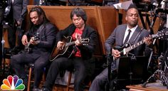 Shigeru Miyamoto Performs The 'Super Mario Bros' Theme With The Roots
