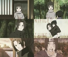 Itachi Uchiha: He sacrified everything. #naruto